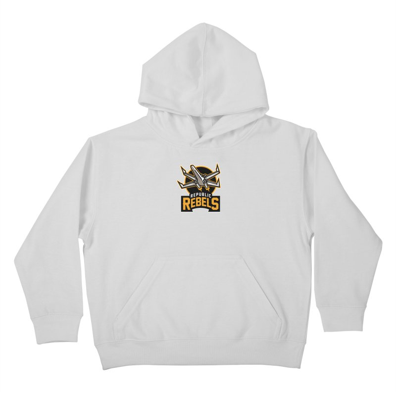 Republic Rebels Kids Pullover Hoody by WanderingBert Shirts and stuff
