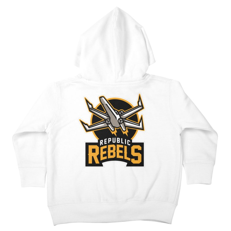 Republic Rebels Kids Toddler Zip-Up Hoody by WanderingBert Shirts and stuff