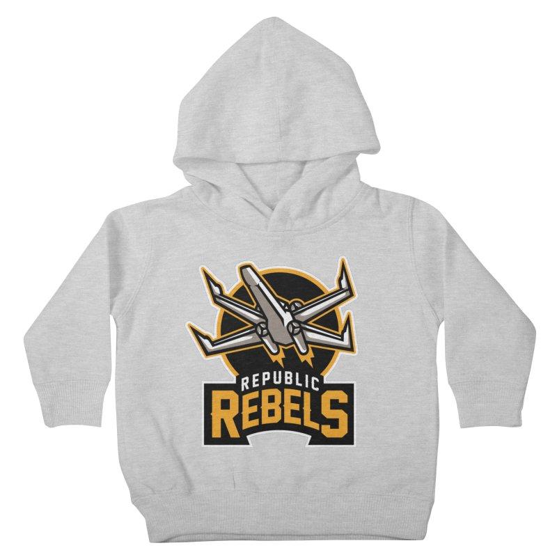 Republic Rebels Kids Toddler Pullover Hoody by WanderingBert Shirts and stuff