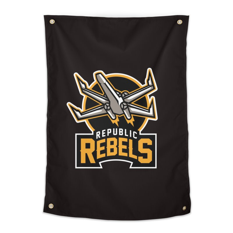 Republic Rebels Home Tapestry by WanderingBert Shirts and stuff