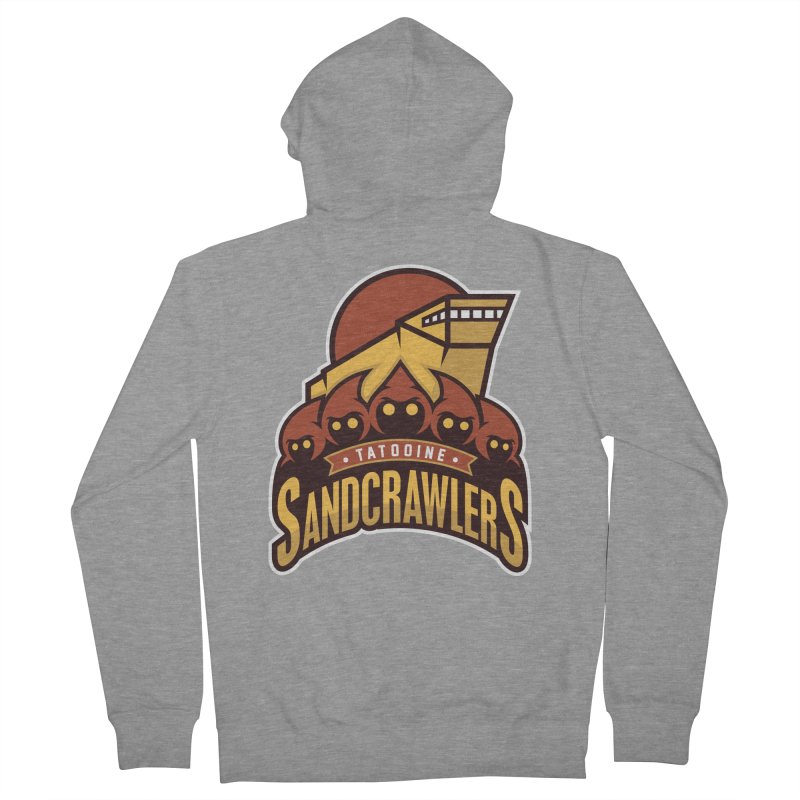 Tatooine SandCrawlers Women's Zip-Up Hoody by WanderingBert Shirts and stuff