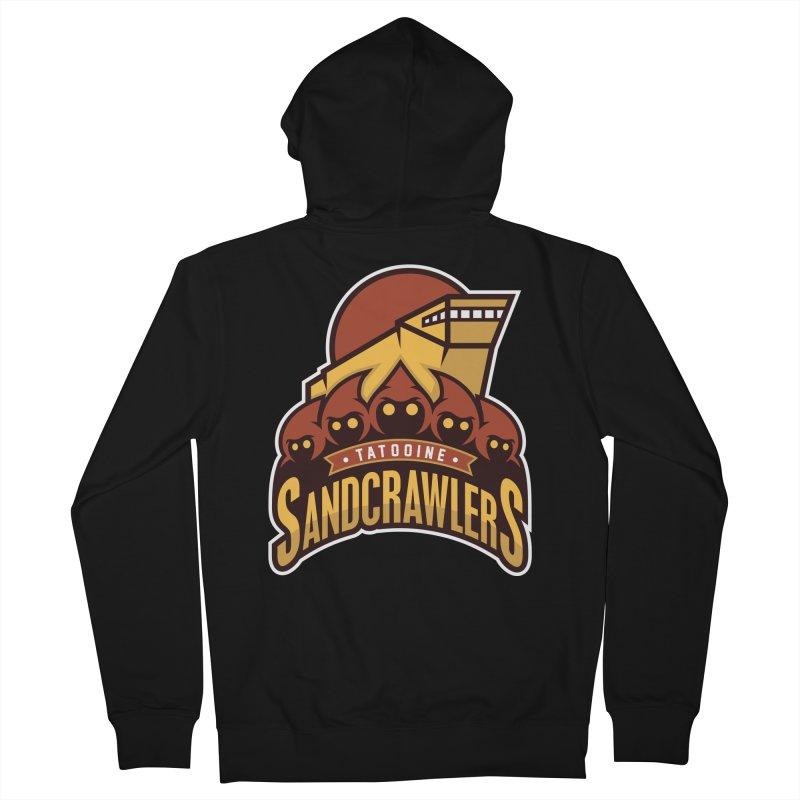 Tatooine SandCrawlers Men's Zip-Up Hoody by WanderingBert Shirts and stuff