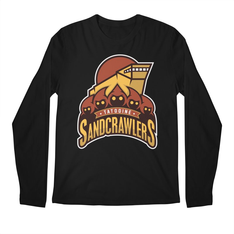 Tatooine SandCrawlers Men's Longsleeve T-Shirt by WanderingBert Shirts and stuff