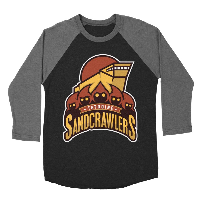 Tatooine SandCrawlers Women's Baseball Triblend T-Shirt by WanderingBert Shirts and stuff
