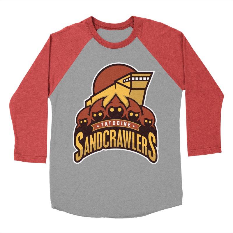Tatooine SandCrawlers Men's Baseball Triblend T-Shirt by WanderingBert Shirts and stuff