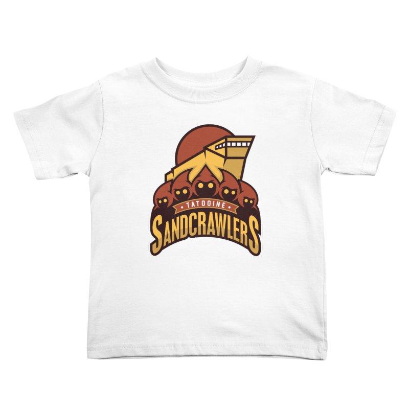 Tatooine SandCrawlers Kids Toddler T-Shirt by WanderingBert Shirts and stuff