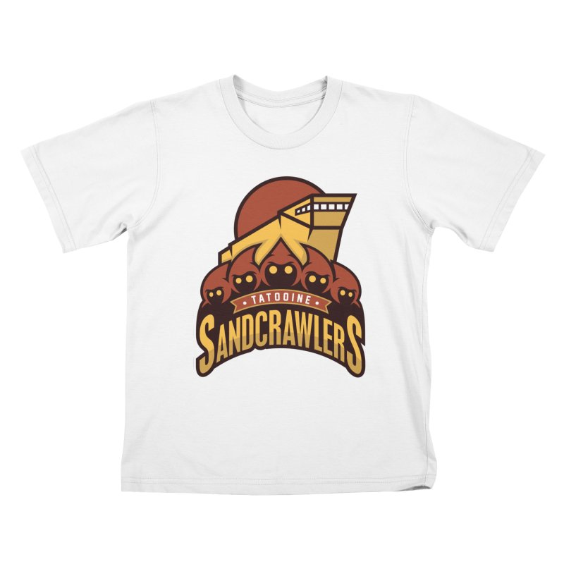 Tatooine SandCrawlers Kids T-Shirt by WanderingBert Shirts and stuff