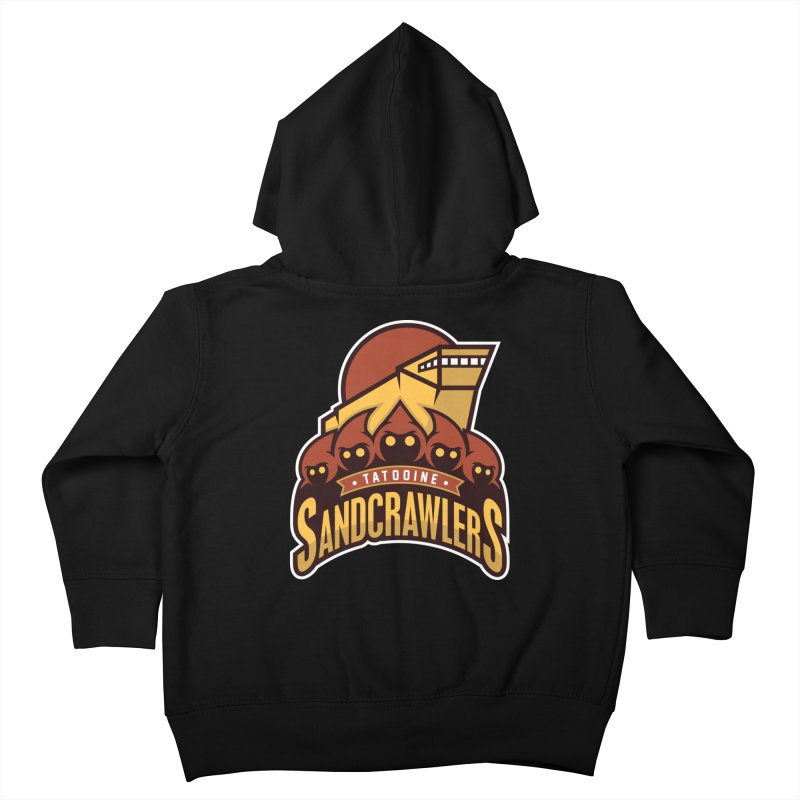 Tatooine SandCrawlers Kids Toddler Zip-Up Hoody by WanderingBert Shirts and stuff