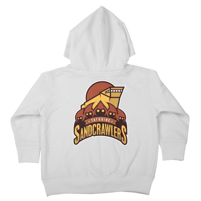 Tatooine SandCrawlers Kids Toddler Zip-Up Hoody by WanderingBert Shirts and stuff