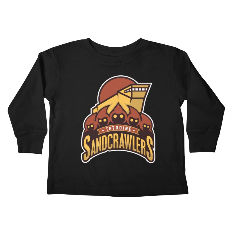 Tatooine SandCrawlers Kids Toddler Longsleeve T-Shirt by WanderingBert Shirts and stuff