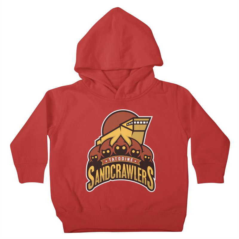 Tatooine SandCrawlers Kids Toddler Pullover Hoody by WanderingBert Shirts and stuff