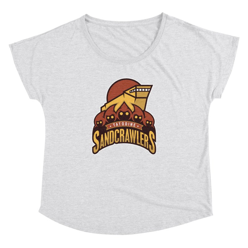 Tatooine SandCrawlers Women's Dolman by WanderingBert Shirts and stuff