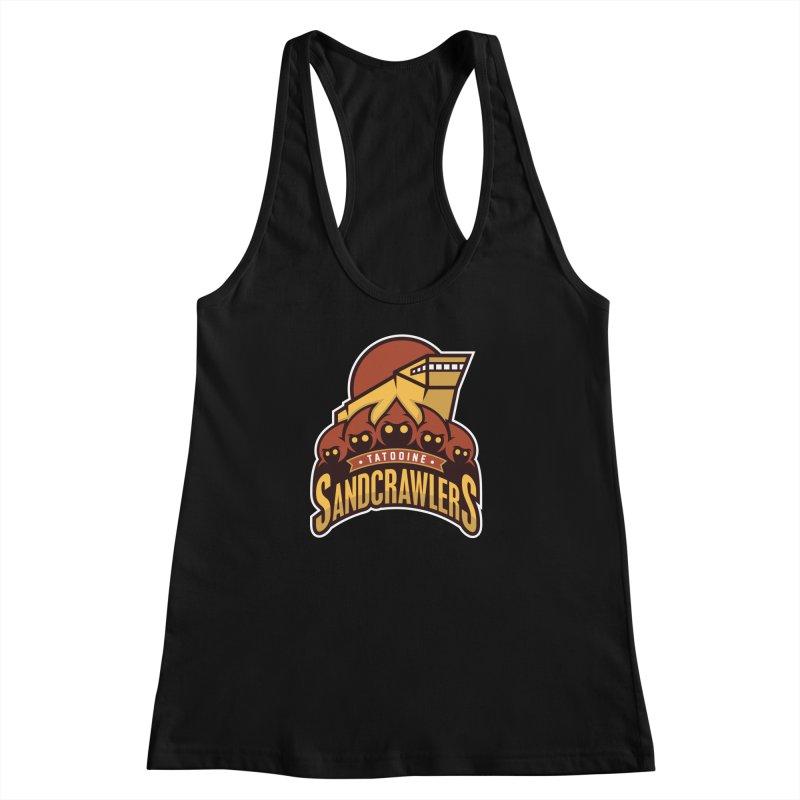 Tatooine SandCrawlers Women's Racerback Tank by WanderingBert Shirts and stuff