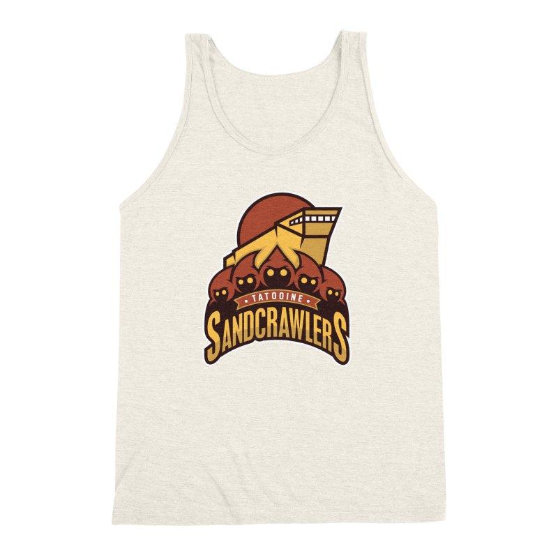 Tatooine SandCrawlers Men's Triblend Tank by WanderingBert Shirts and stuff