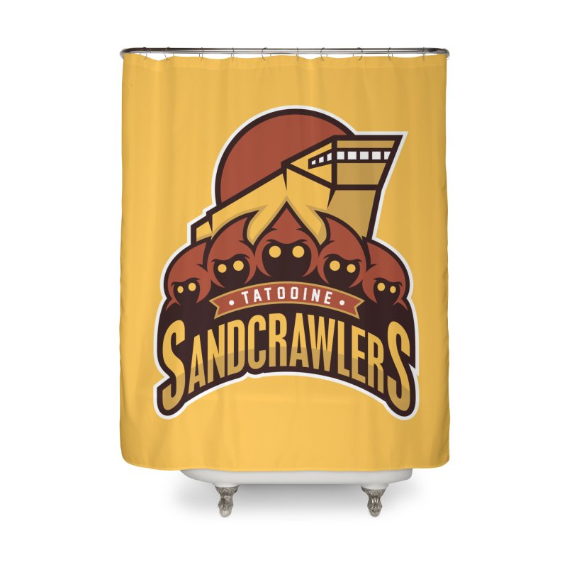 Tatooine SandCrawlers Home Shower Curtain by WanderingBert Shirts and stuff