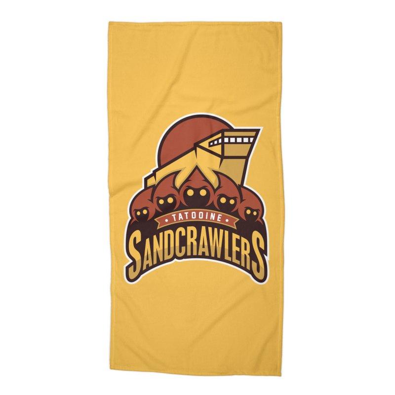 Tatooine SandCrawlers Accessories Beach Towel by WanderingBert Shirts and stuff