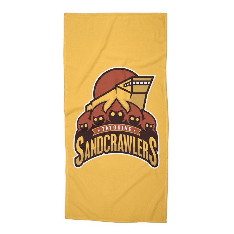 Tatooine SandCrawlers Accessories Beach Towel by WanderingBert Shirts and stuff