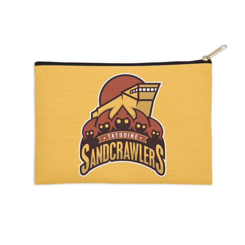 Tatooine SandCrawlers Accessories Zip Pouch by WanderingBert Shirts and stuff