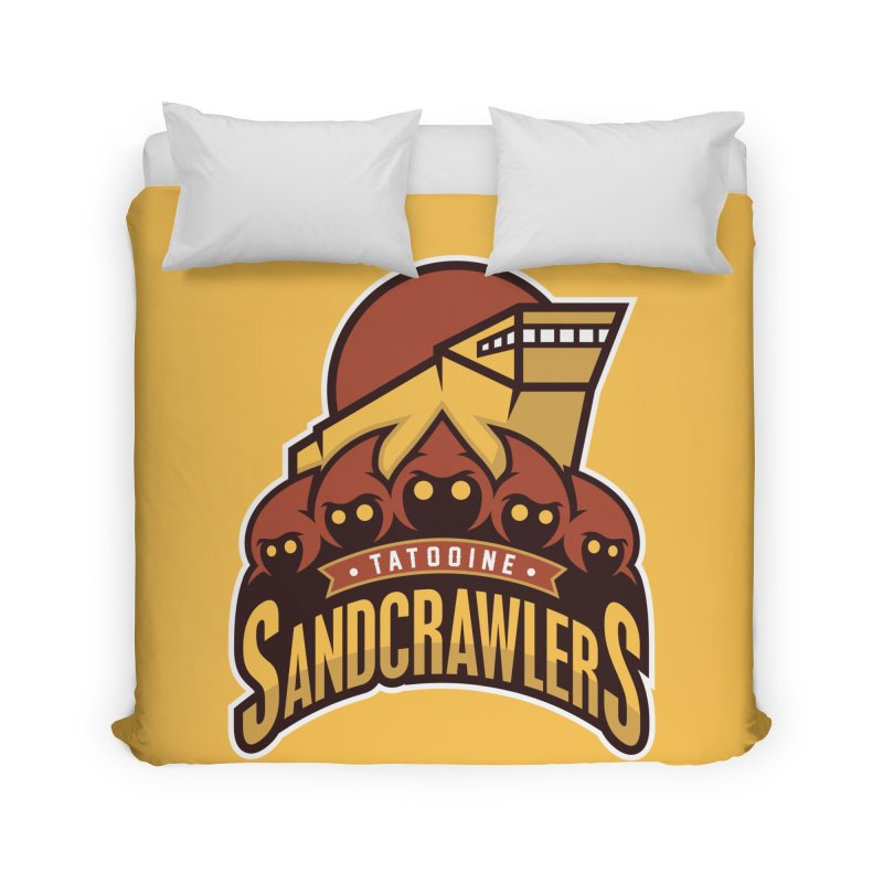 Tatooine SandCrawlers Home Duvet by WanderingBert Shirts and stuff