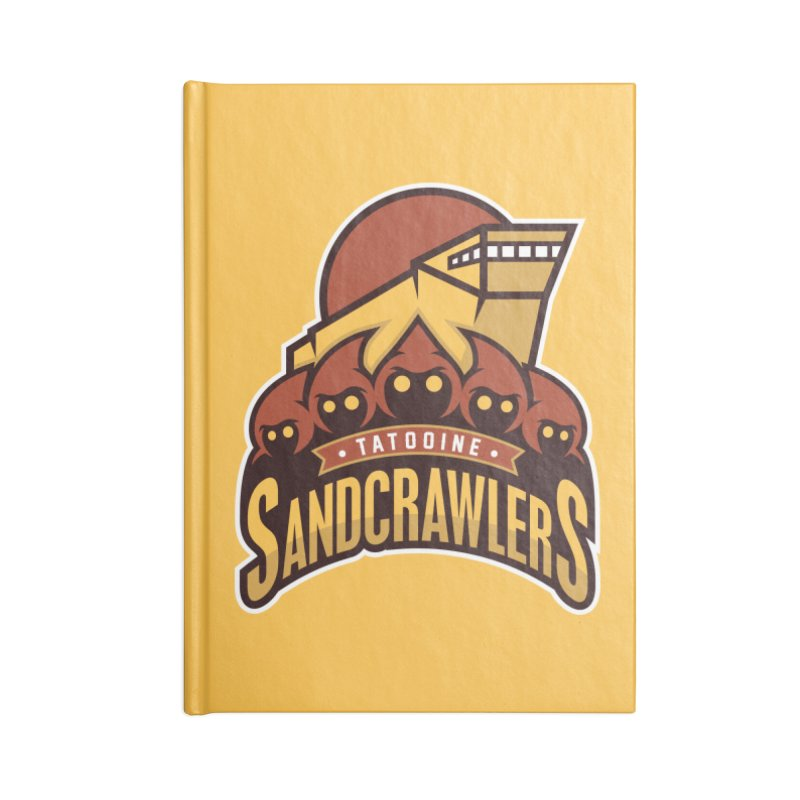 Tatooine SandCrawlers Accessories Notebook by WanderingBert Shirts and stuff