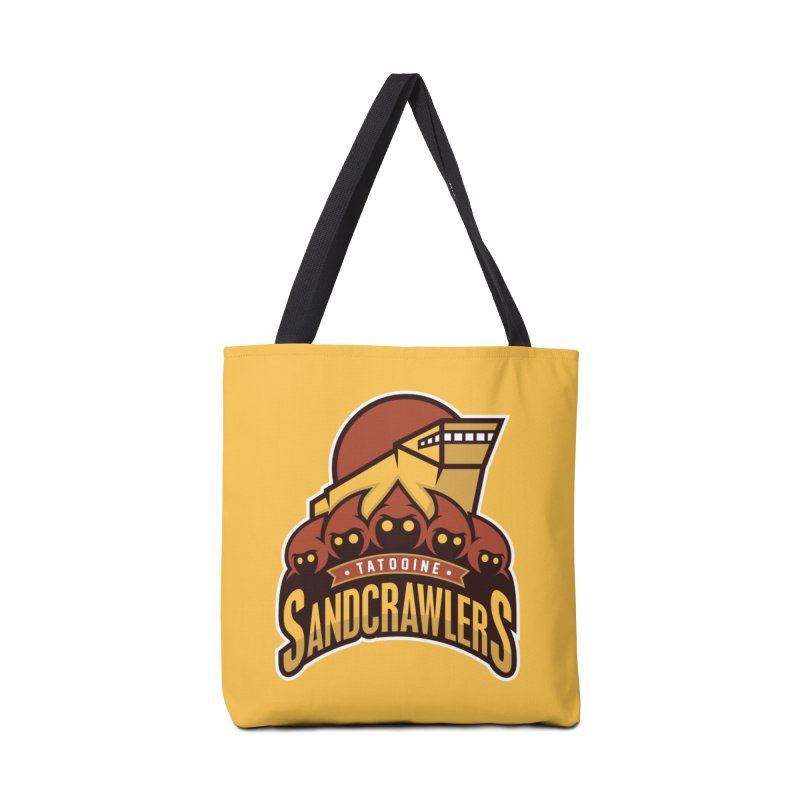 Tatooine SandCrawlers Accessories Bag by WanderingBert Shirts and stuff