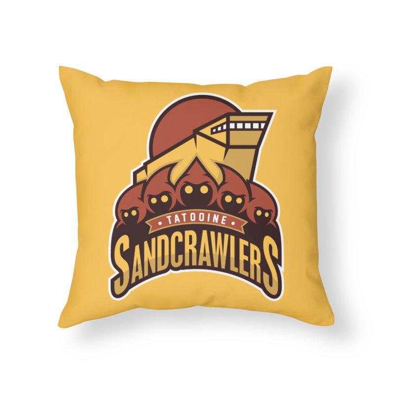 Tatooine SandCrawlers Home Throw Pillow by WanderingBert Shirts and stuff