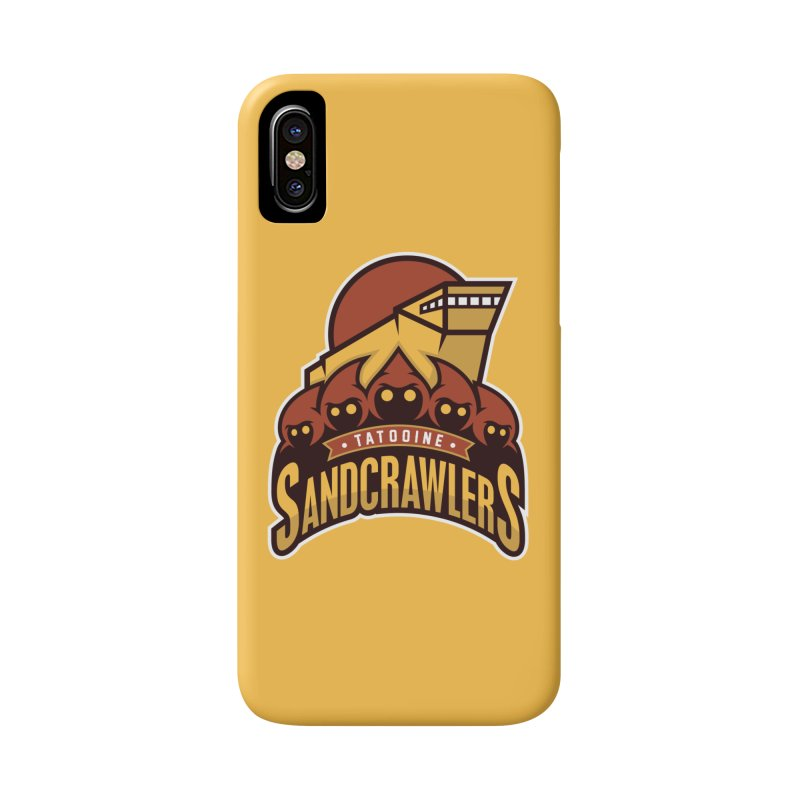 Tatooine SandCrawlers Accessories Phone Case by WanderingBert Shirts and stuff
