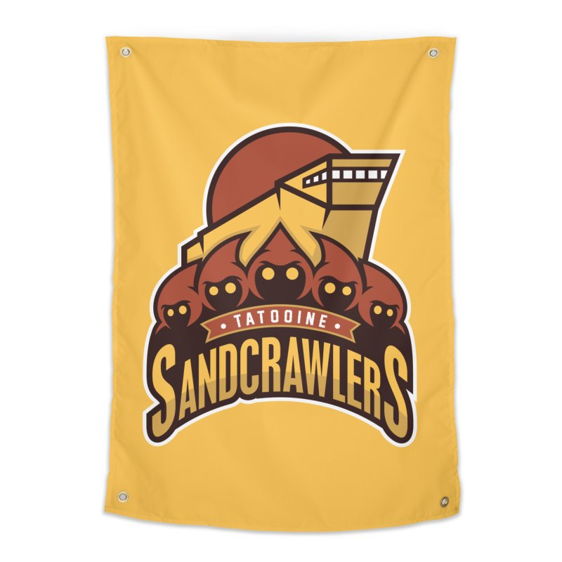 Tatooine SandCrawlers Home Tapestry by WanderingBert Shirts and stuff