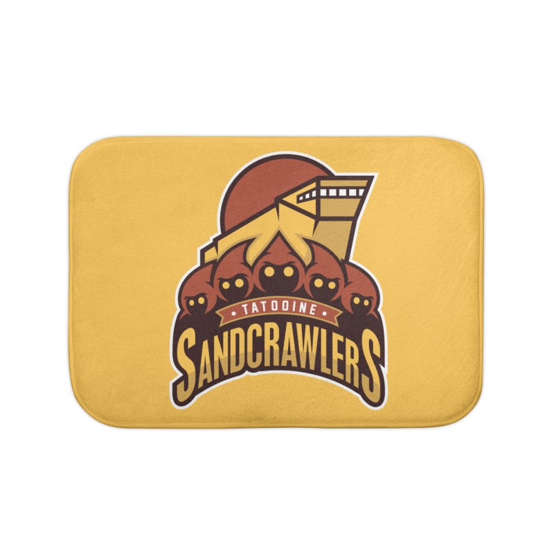 Tatooine SandCrawlers Home Bath Mat by WanderingBert Shirts and stuff