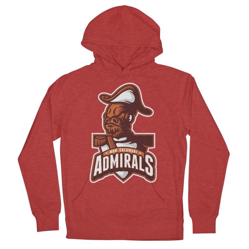 Mon Calamari Admirals Men's Pullover Hoody by WanderingBert Shirts and stuff