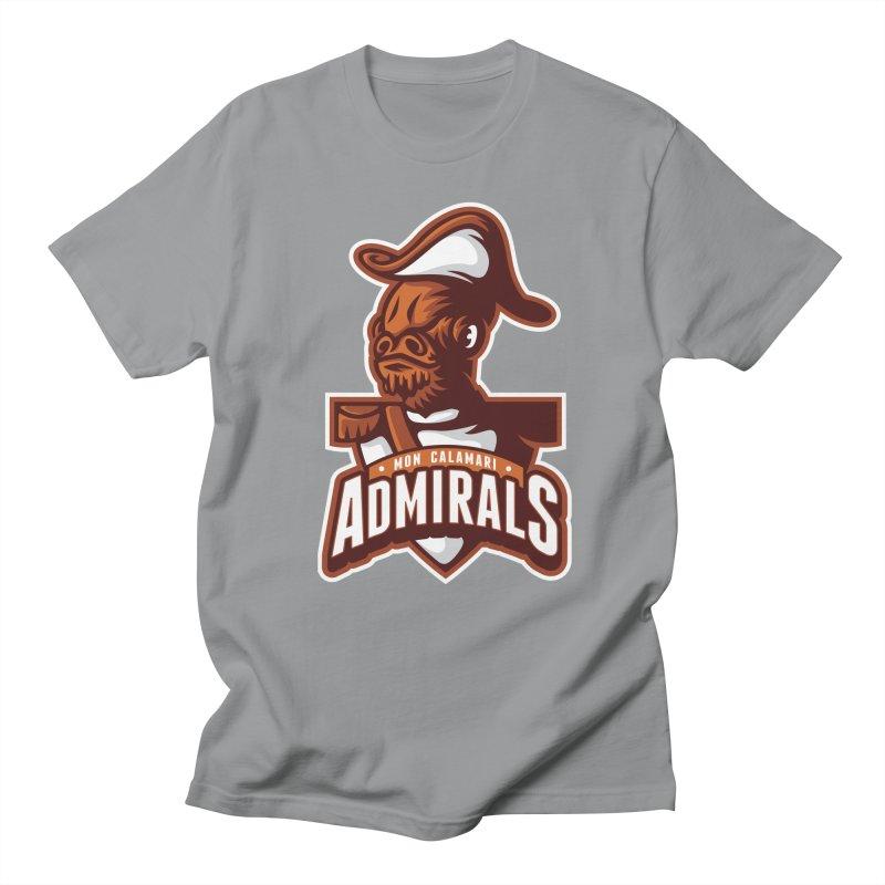 Mon Calamari Admirals Men's T-Shirt by WanderingBert Shirts and stuff