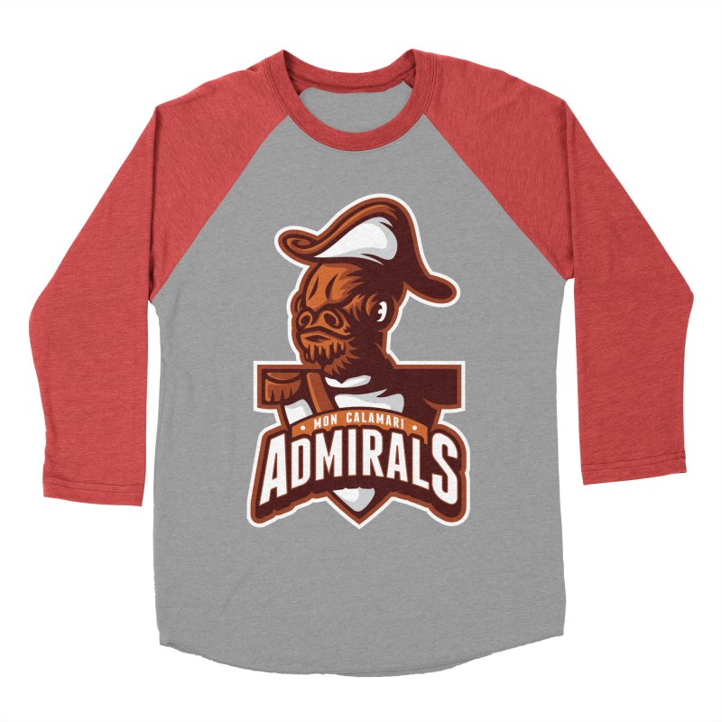 Mon Calamari Admirals Women's Baseball Triblend T-Shirt by WanderingBert Shirts and stuff