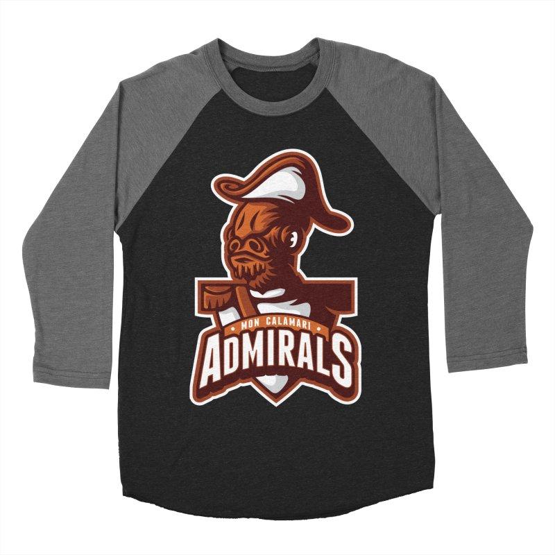 Mon Calamari Admirals Women's Baseball Triblend T-Shirt by WanderingBert Shirts and stuff
