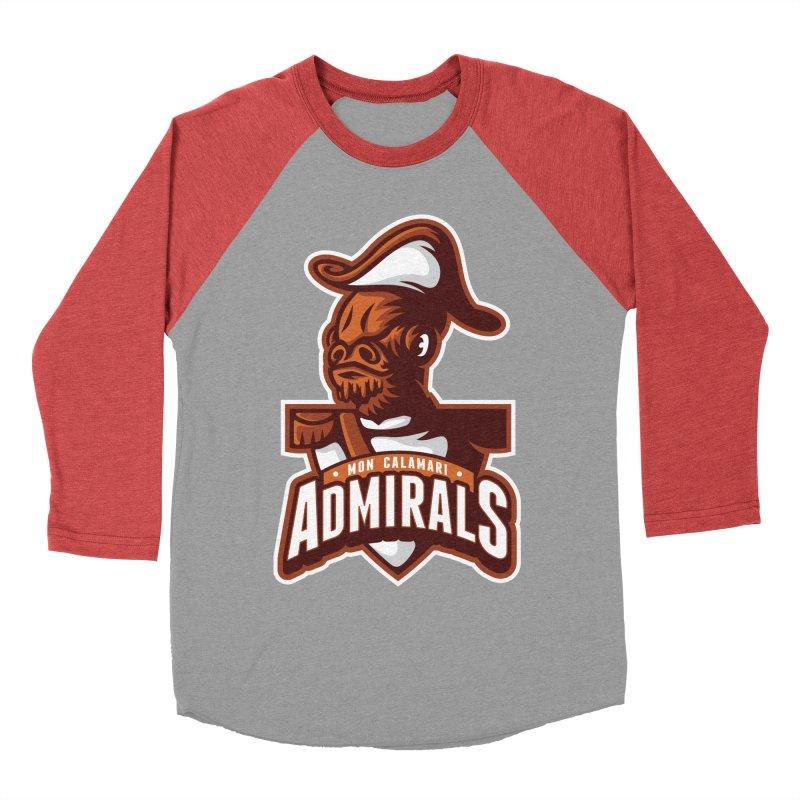 Mon Calamari Admirals Men's Baseball Triblend T-Shirt by WanderingBert Shirts and stuff