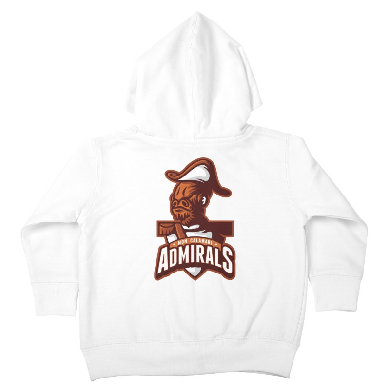 Mon Calamari Admirals Kids Toddler Zip-Up Hoody by WanderingBert Shirts and stuff