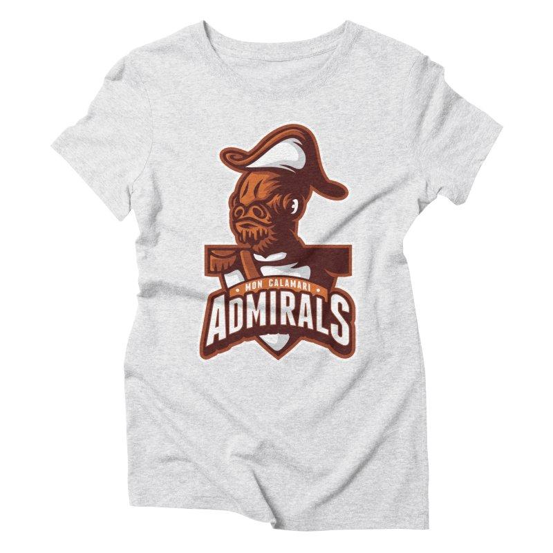 Mon Calamari Admirals Women's Triblend T-Shirt by WanderingBert Shirts and stuff