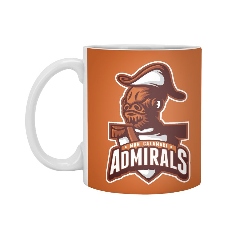 Mon Calamari Admirals Accessories Mug by WanderingBert Shirts and stuff
