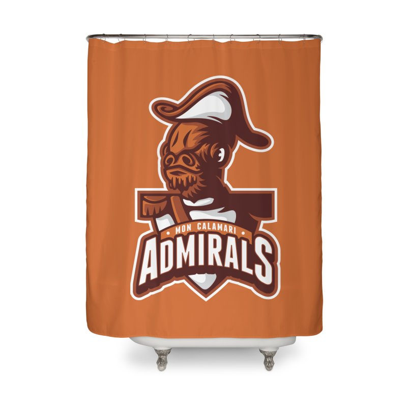 Mon Calamari Admirals Home Shower Curtain by WanderingBert Shirts and stuff