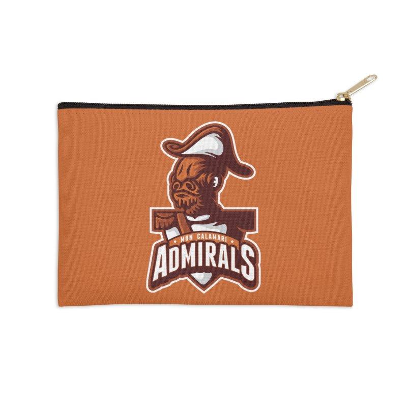 Mon Calamari Admirals Accessories Zip Pouch by WanderingBert Shirts and stuff