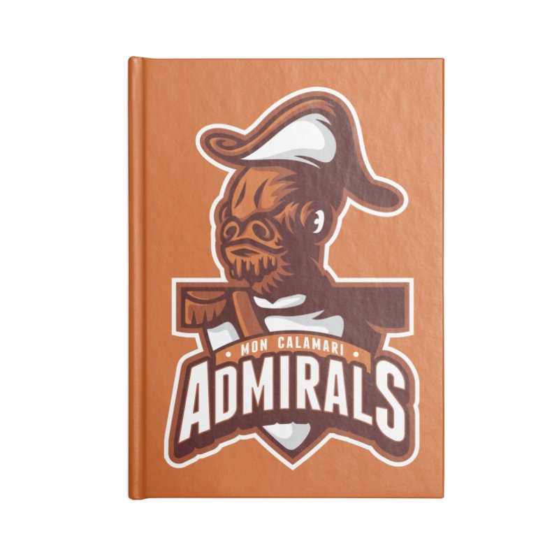 Mon Calamari Admirals Accessories Notebook by WanderingBert Shirts and stuff
