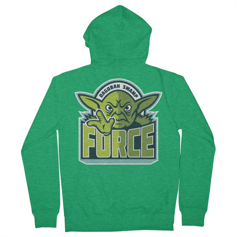 Dagobah Swamp Force Women's Zip-Up Hoody by WanderingBert Shirts and stuff
