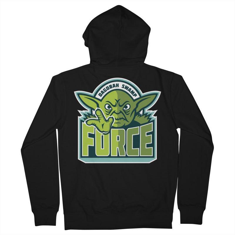 Dagobah Swamp Force Men's Zip-Up Hoody by WanderingBert Shirts and stuff