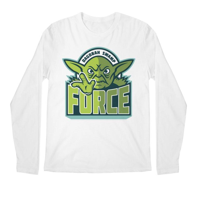 Dagobah Swamp Force Men's Longsleeve T-Shirt by WanderingBert Shirts and stuff