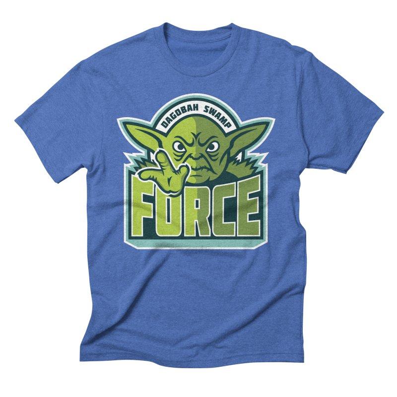 Dagobah Swamp Force Men's Triblend T-Shirt by WanderingBert Shirts and stuff