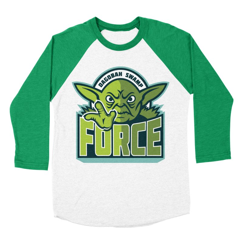 Dagobah Swamp Force Women's Baseball Triblend T-Shirt by WanderingBert Shirts and stuff