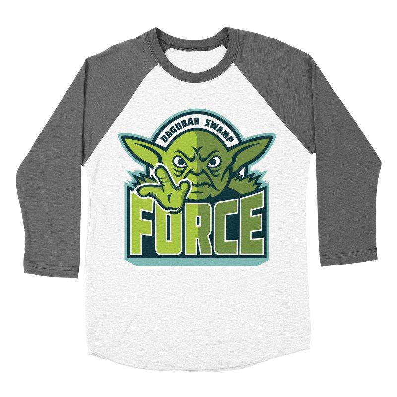 Dagobah Swamp Force Men's Baseball Triblend T-Shirt by WanderingBert Shirts and stuff
