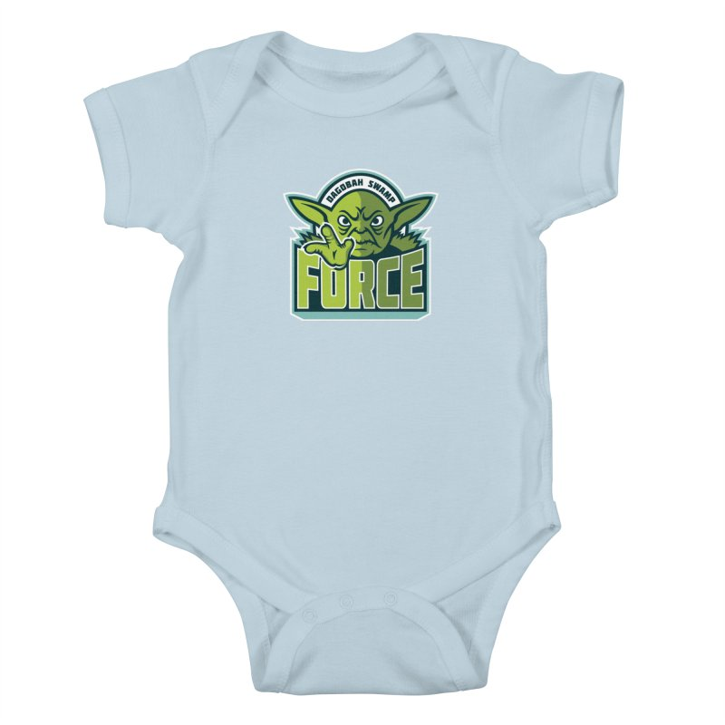 Dagobah Swamp Force Kids Baby Bodysuit by WanderingBert Shirts and stuff
