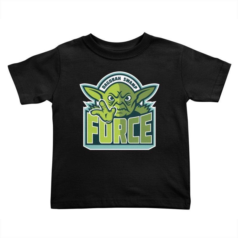Dagobah Swamp Force Kids Toddler T-Shirt by WanderingBert Shirts and stuff