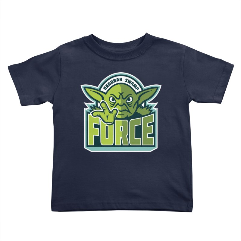 Dagobah Swamp Force Kids Toddler T-Shirt by WanderingBert Shirts and stuff