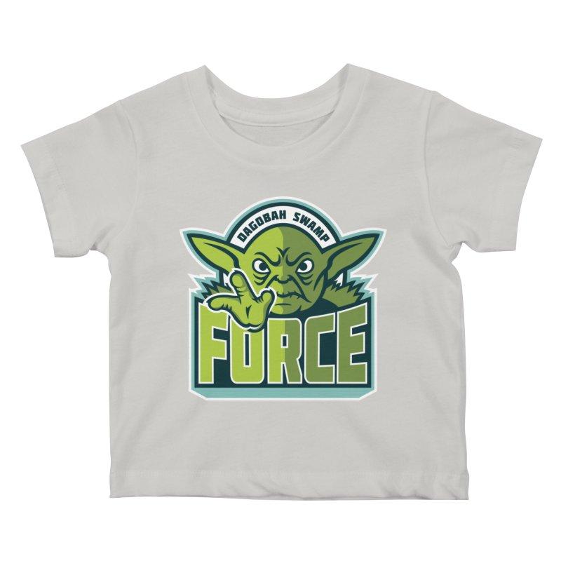Dagobah Swamp Force Kids Baby T-Shirt by WanderingBert Shirts and stuff